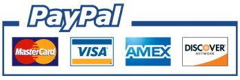 Pay via Paypal - Credit Card Accepted